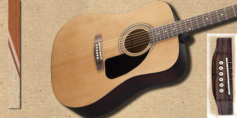 Fender FA100 acoustic guitar dreadnought style
