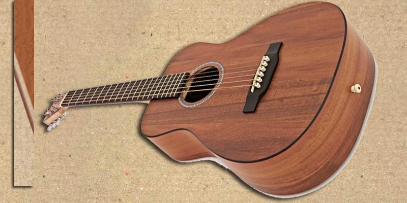 Martin lxk2 travel guitar