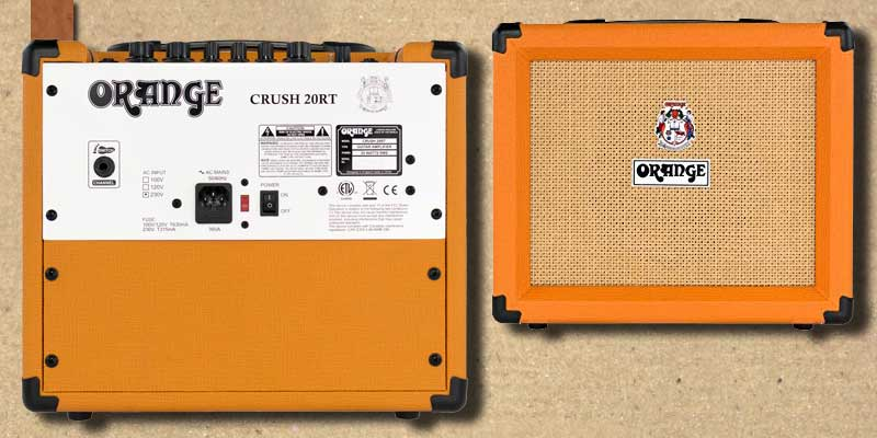 Orange Crush Guitar Amp -001