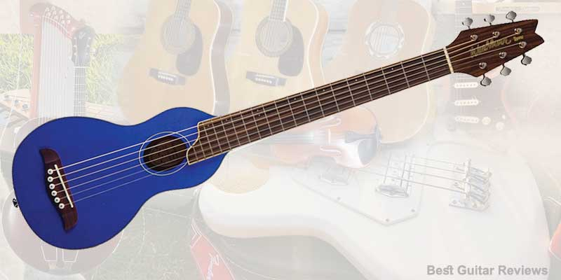 Washburn RO10TB Rover Steel String Travel Acoustic Guitar-005