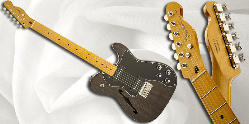 fender modern player telecaster thinline deluxe maple fingerboard. Black Bedroom Furniture Sets. Home Design Ideas
