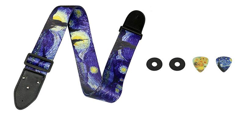 Van Gogh Guitar Strap5543211567
