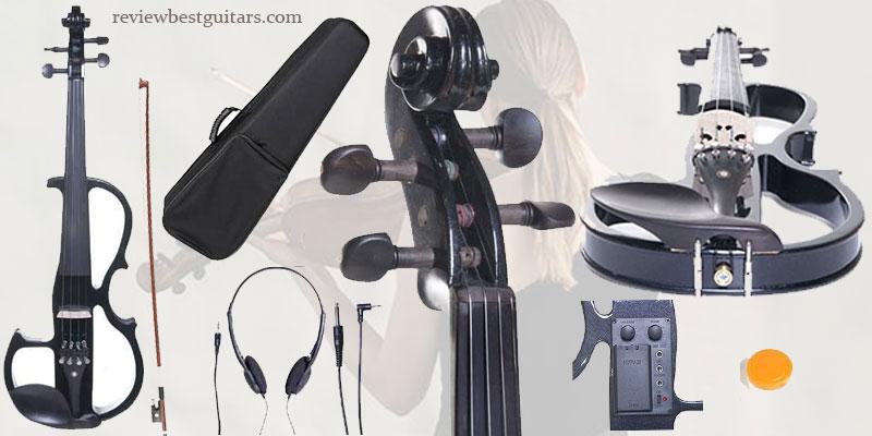 BGR Cecilio CEVN 2BK Electric Violin