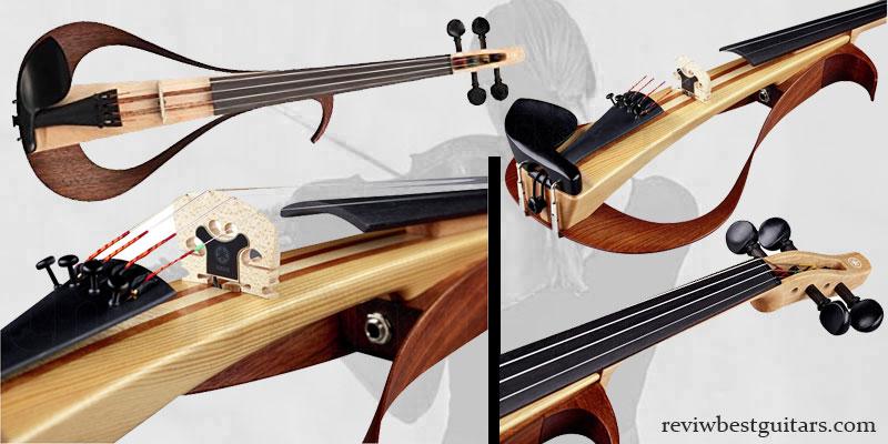 BGR Yamaha Electric Violin YEVO4NT